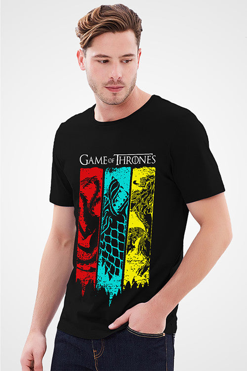 Game Of Thrones Black T-Shirt