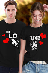 Lovely Micky Minnie Couple T Shirt