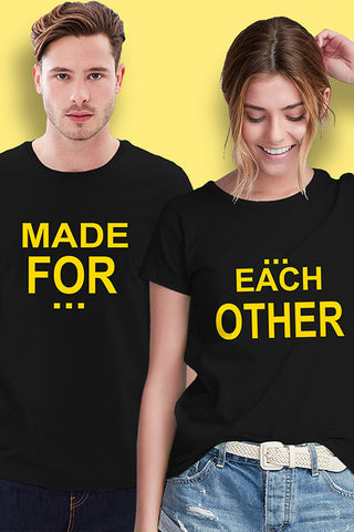 Made for Each Other Couple T Shirt