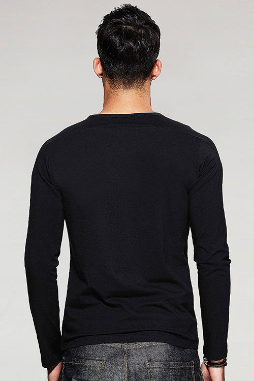 Tu Kya Hai Full Sleeve Black T Shirt