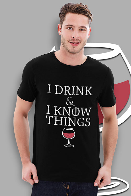 I Drink And I Know Things - Game Of Thrones Official T-shirt