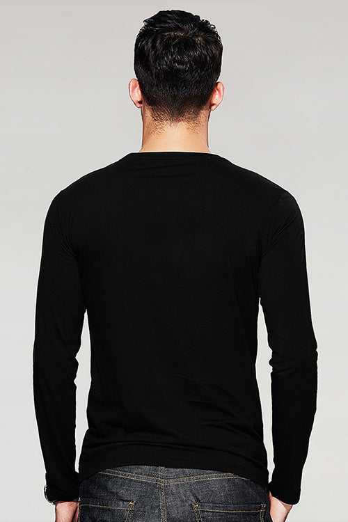 Night Mode On T-Shirt Full Sleeve T-Shirt