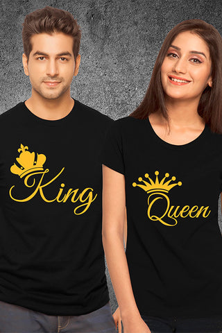 King & Queen Couple Tees