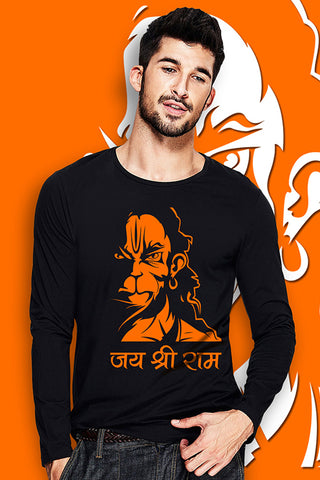Hanuman Full Sleeve T Shirt