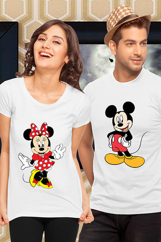 Mickey & Minnie Couple Tees
