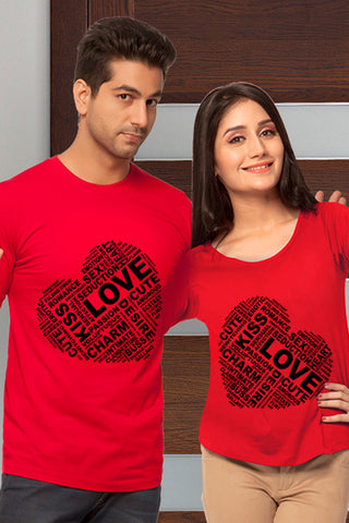 Two Heart's Couple T-shirt