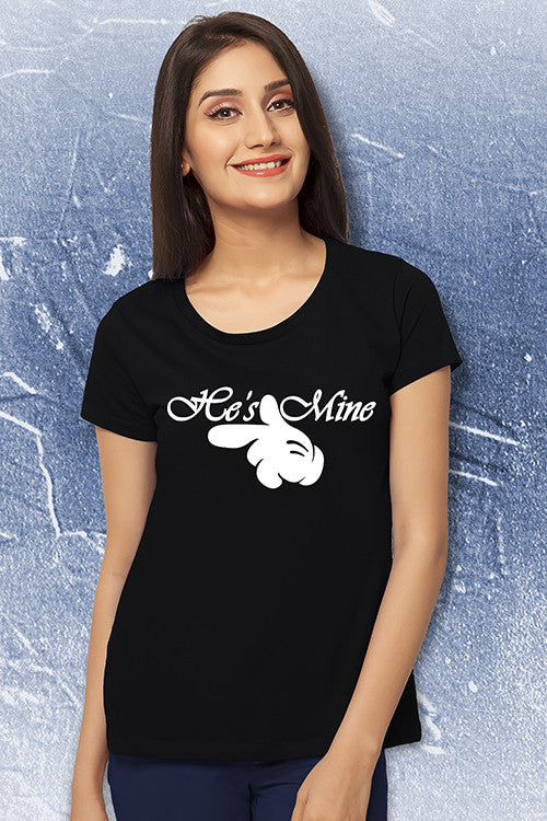 She's Mine He's Mine Couple Tees