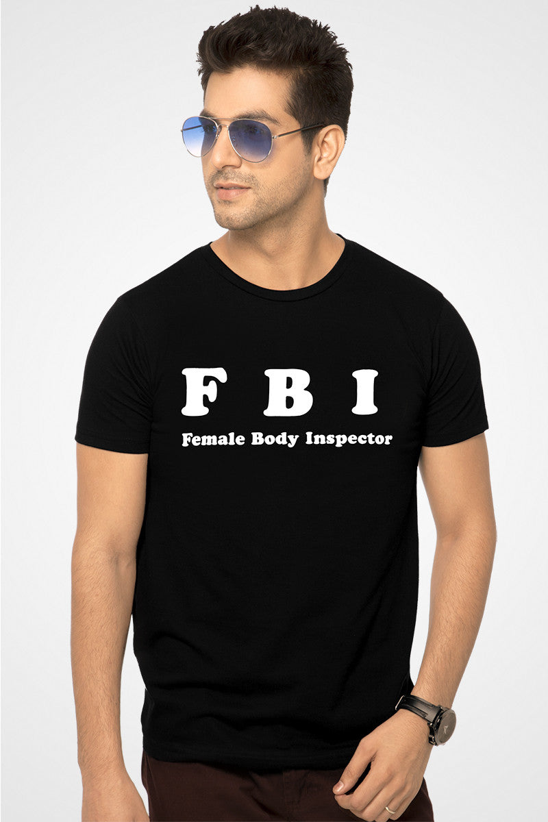 FBI Black T Shirt