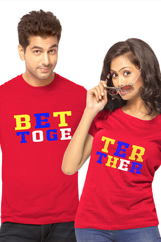 Better Together Couple Tees