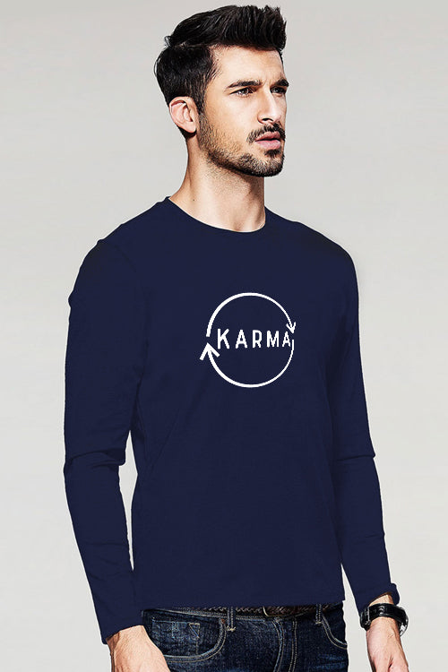 Karma Full Sleeve T-Shirt