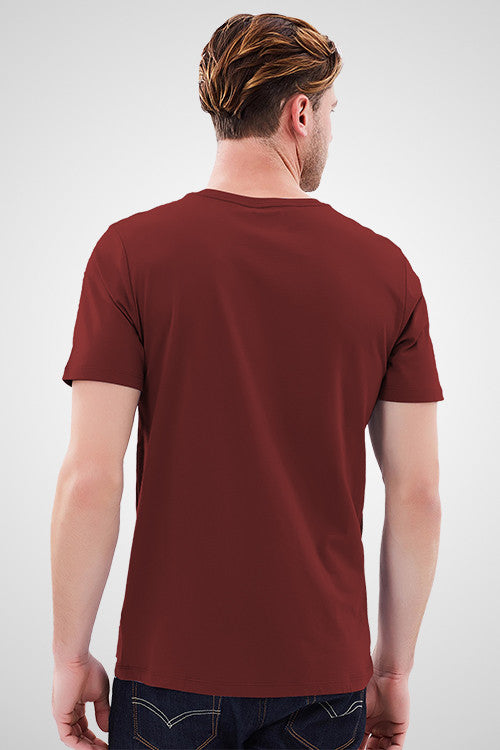 Haveli Maroon T-Shirt
