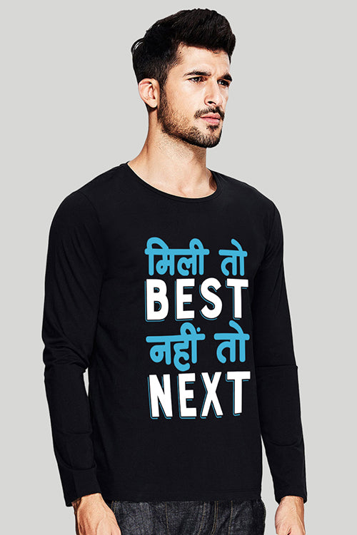 Mili Toh Best Full Sleeve T Shirt