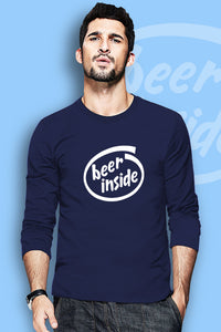 Beer Inside Full Sleeve T-Shirt