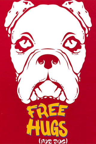 Free Hug For Dog T-shirt