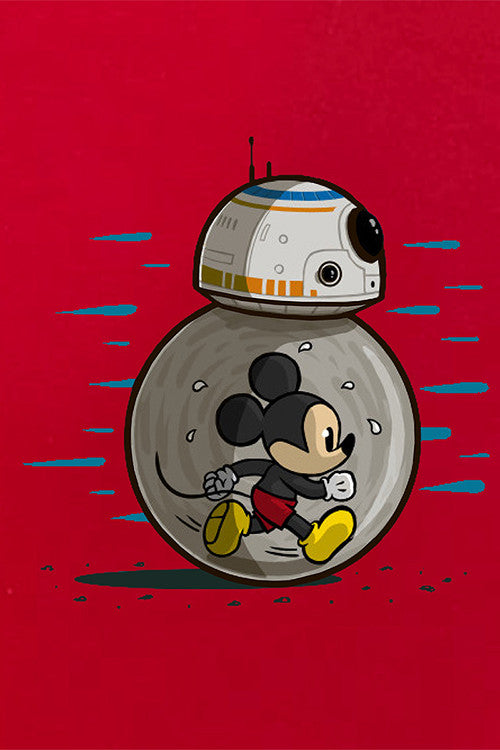 Mickey Mouse BB-8 T-Shirt