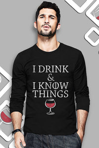 I Drink And I Know Things - Game Of Thrones Official Full T-shirt