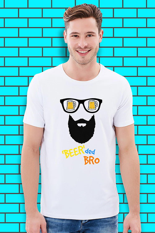 'beer'ded bro T-Shirt