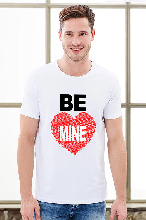 Be Mine Couple T-Shirts