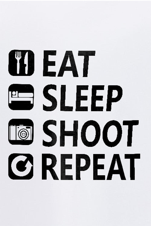 Eat Sleep Shoot Repeat T-Shirt