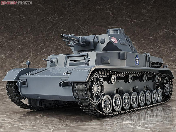 Girls und Panzer - figma Vehicles: Panzer IV Ausf. D `Finals` Completed
