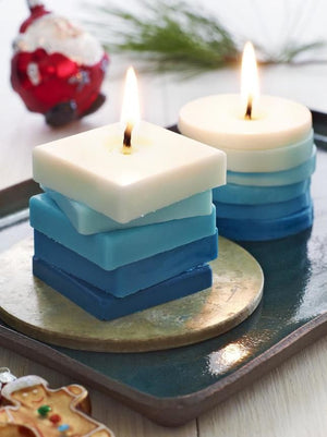 How to Make Stacked Candles