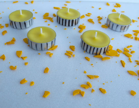How to Dye Candle Wax with Candle Dye Flakes
