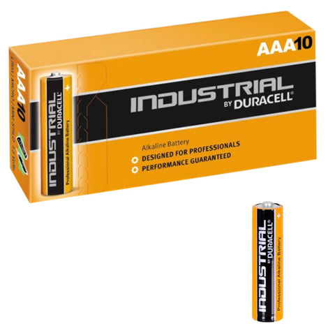 Duracell Industrial ID2400 AAA Battery - Pack of 10