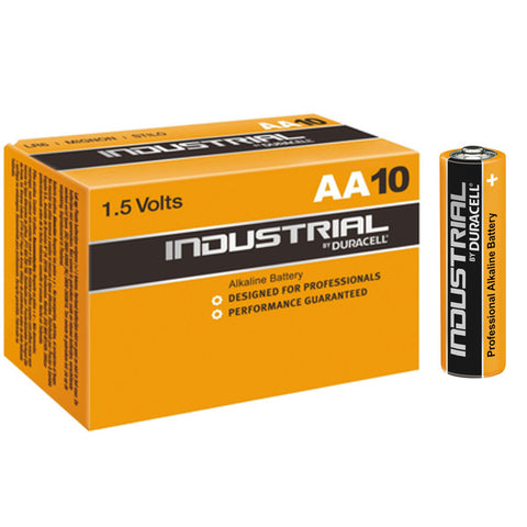 Duracell Industrial ID1500 AA Battery - Pack of 10