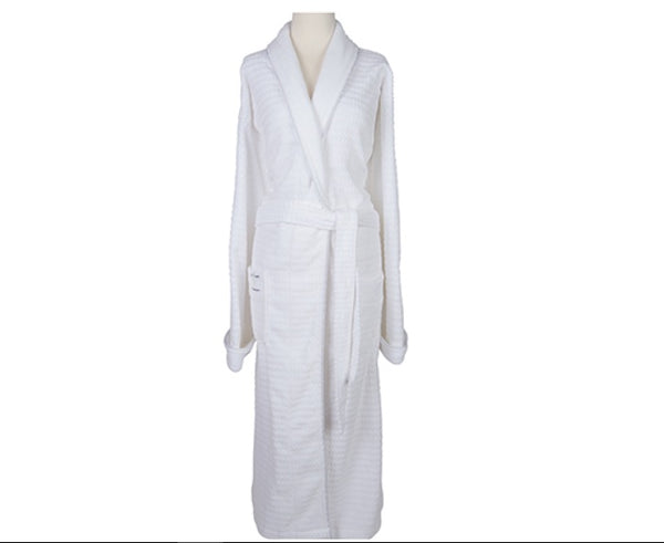 Sposh Regal Robe with Silver Braided Trim
