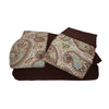 Sposh Microfiber Paisley Sheet Set