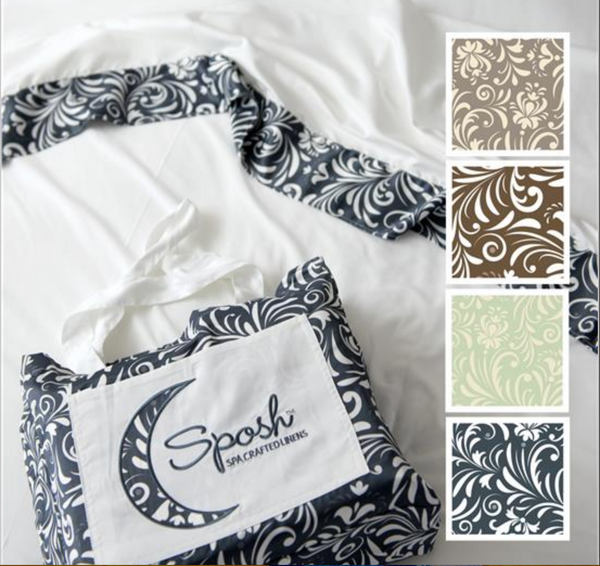 Sposh Nouveau Microfiber Sheet Set