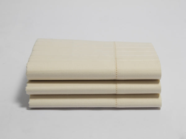 Naturesoft Organic Luxury Stripe Sateen Pillowcase Set