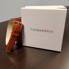 CrookhornDavis Lizard Belt