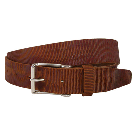 Como Calfskin Dress Belt with Solid Brass Buckle