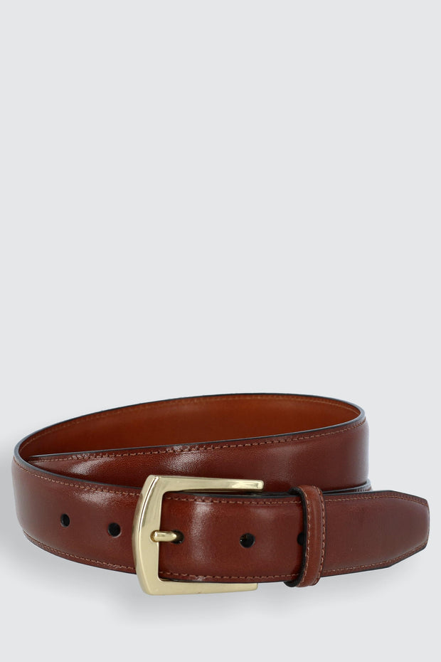 Ciga Smooth 32mm Calfskin Dress Belt