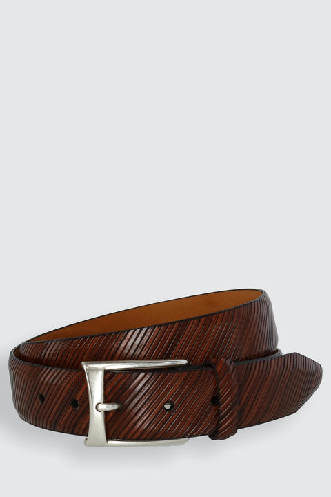 The City Boulevard Italian Calfskin Leather Belt