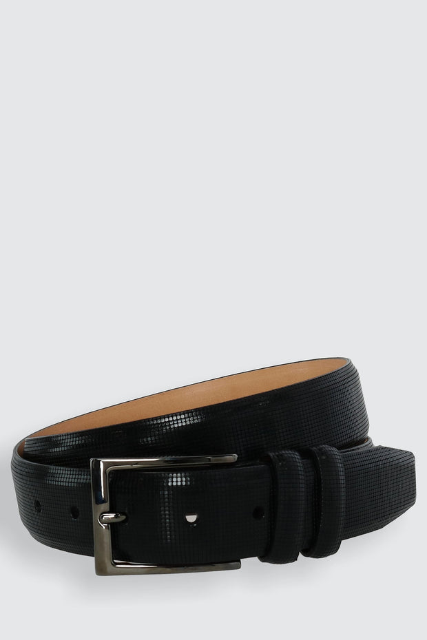 The Michigan Avenue 35mm Italian Calfskin Leather Belt