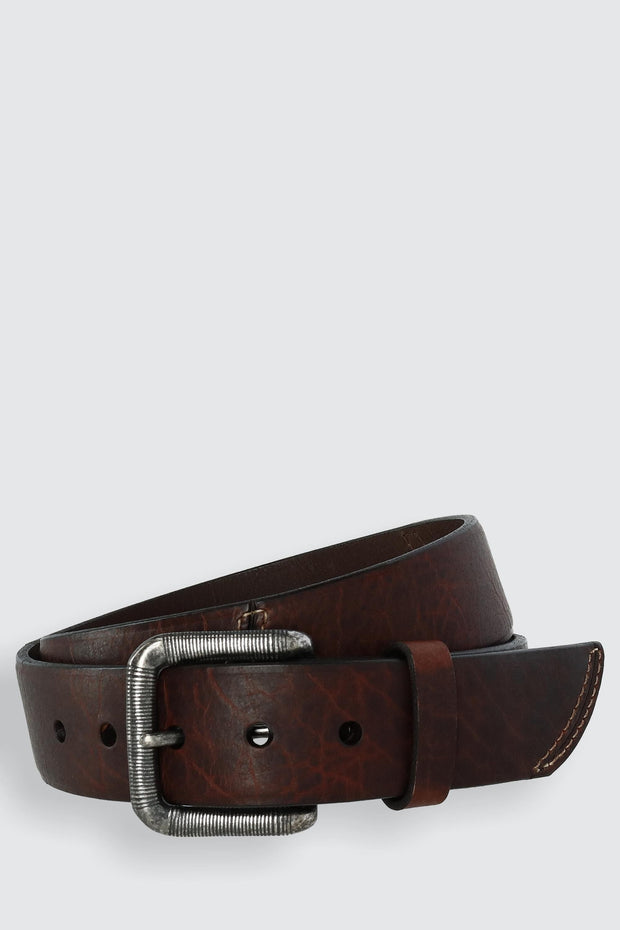 The Crossfire 40mm Genuine Bison Leather Belt