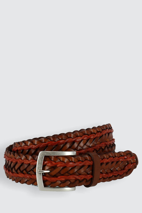 Torino Twin Lace Braided Belt