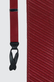 Eastside Solid Diagonal Button End Elastic Braces