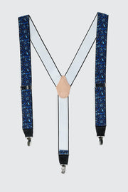 The Royal Brocade 35mm Clip End Elastic Braces