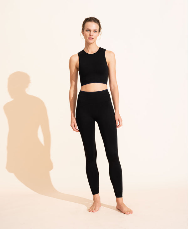 Sophie Crop Top - Black