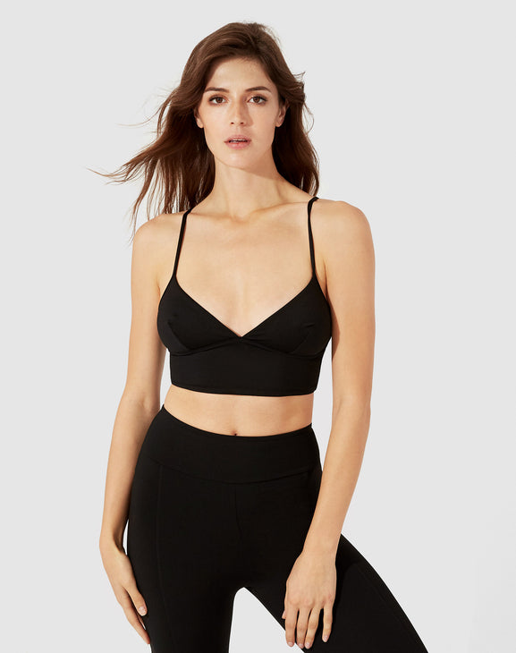 Cara Crop Top - Black