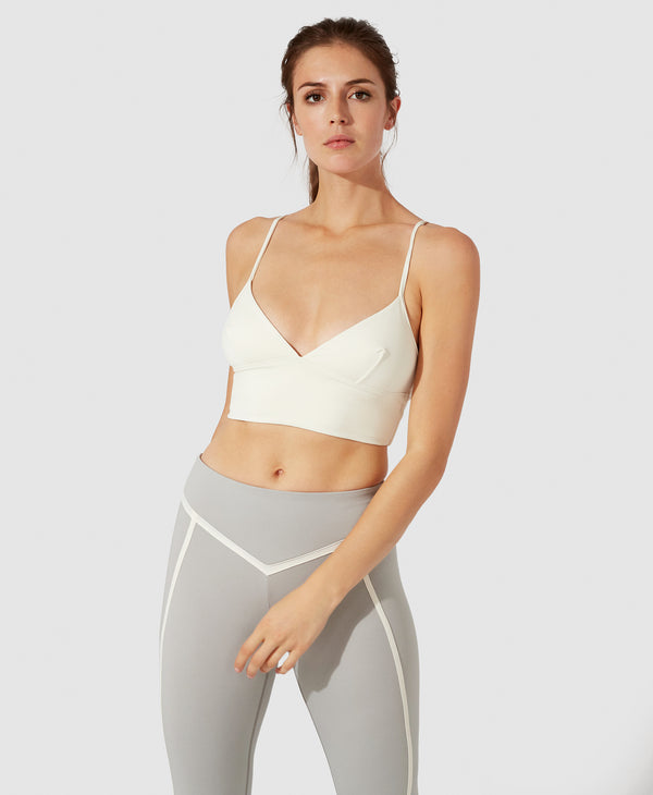 Cara Crop Top - Ivory