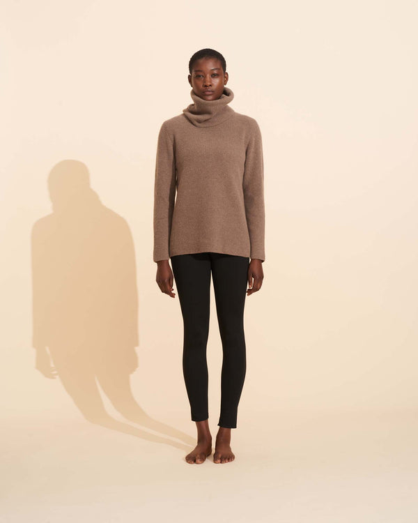 Ombeline Roll Neck - Taupe