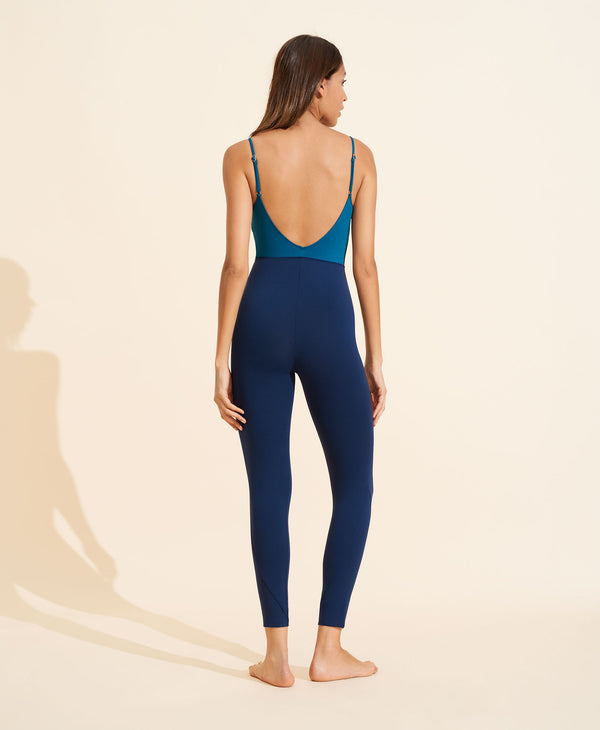 Ilona Bodysuit - Navy / Teal
