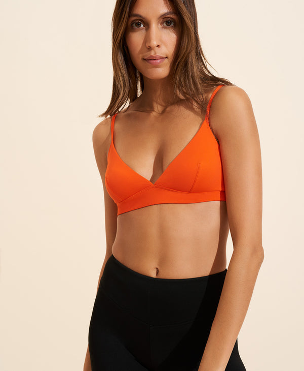 Adele Bralette - Orange