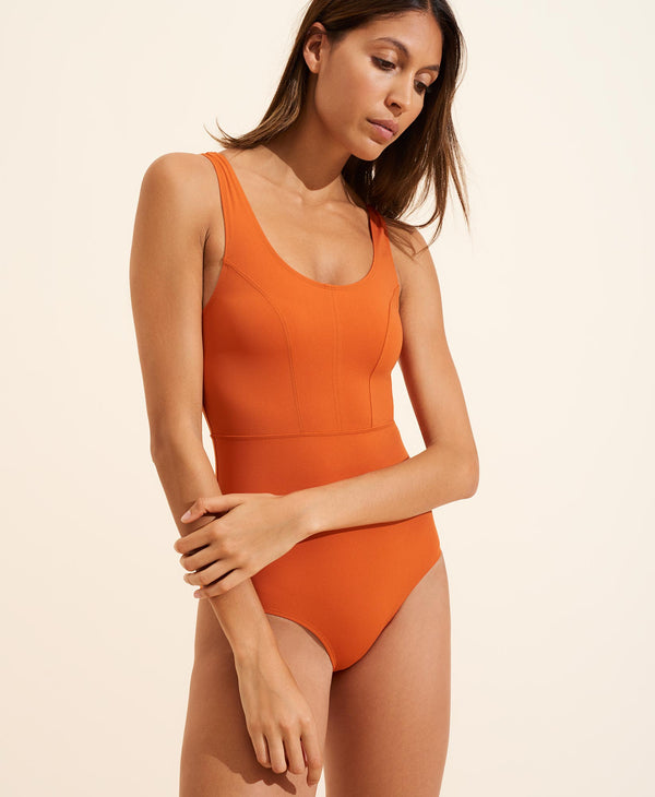 Victoire Swimsuit - Rust
