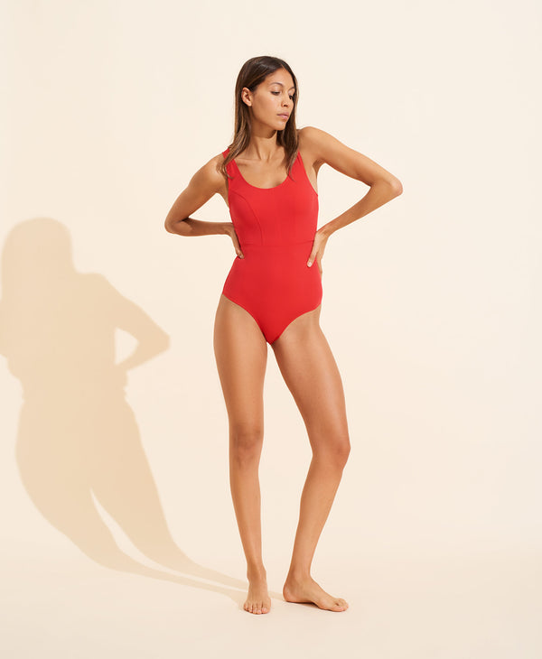 Victoire Swimsuit - Scarlet