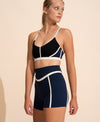 Chloe Short - Navy / Ivory